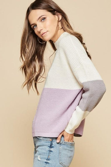 Colorblock Sweater Sweaters Andree
