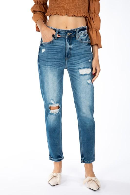 Kancan KATE High Rise Mom Jeans Jeans KanCan