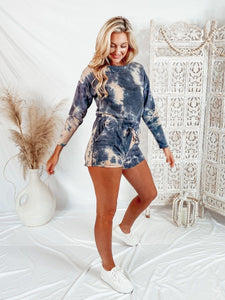 The Perfect Storm Romper Rompers Le Lis