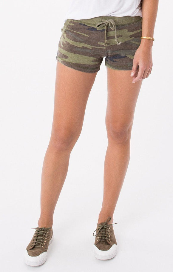 Z Supply Green Camo Short