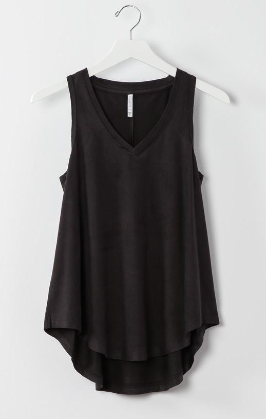 Z Supply Suede Swing Black Tank Z Supply Z Supply