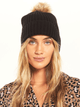 Z Supply Cozy Up Rib Pom Beanie Z Supply Z Supply