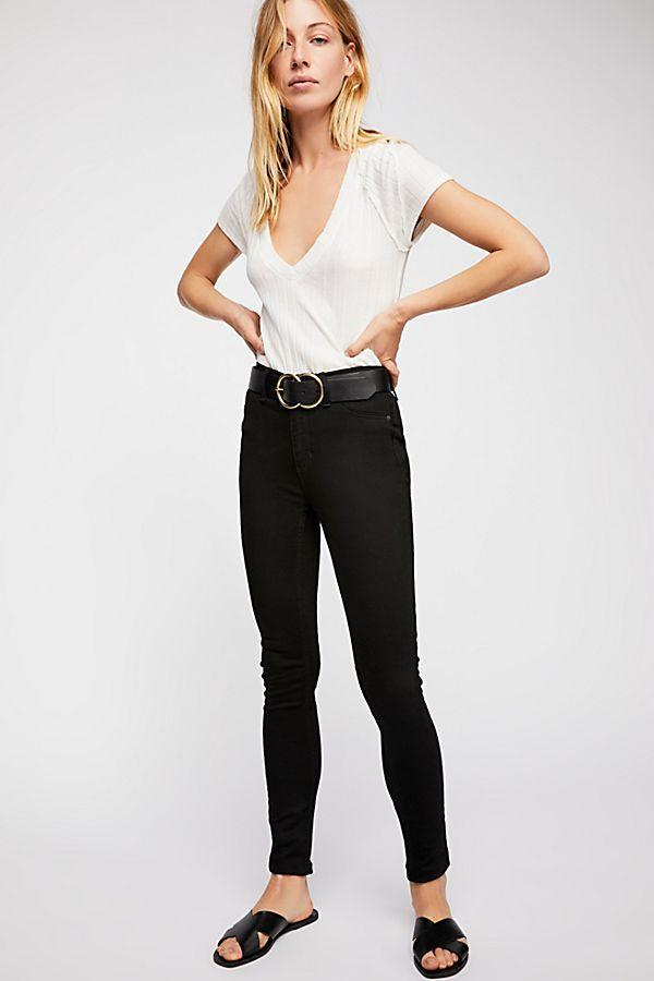 Free People Long and Lean Jeans