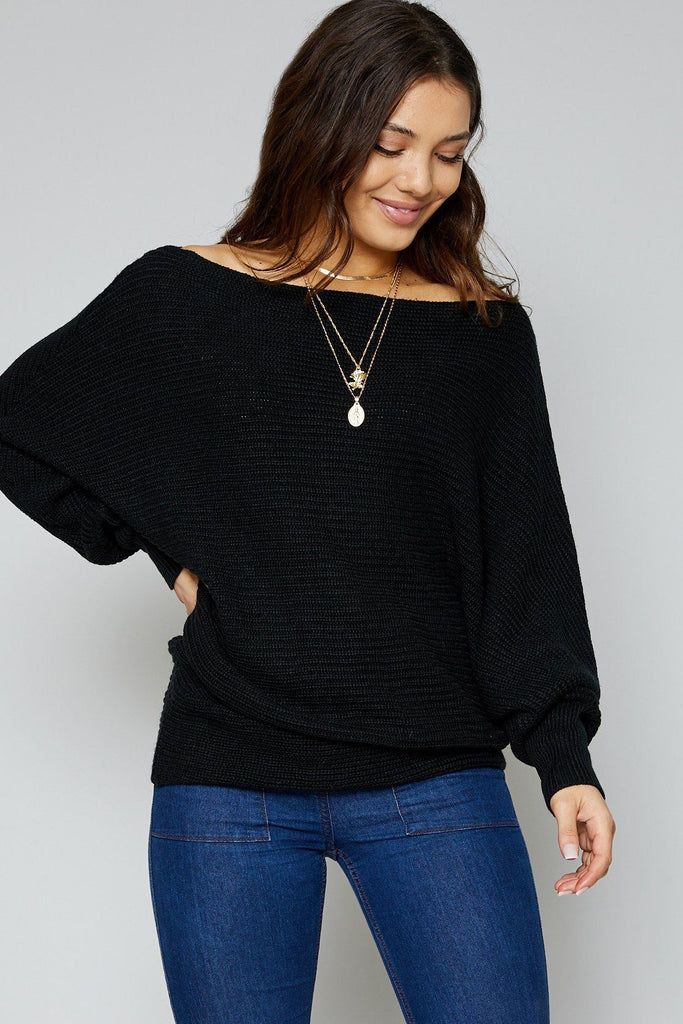 Suki  Black Sweater