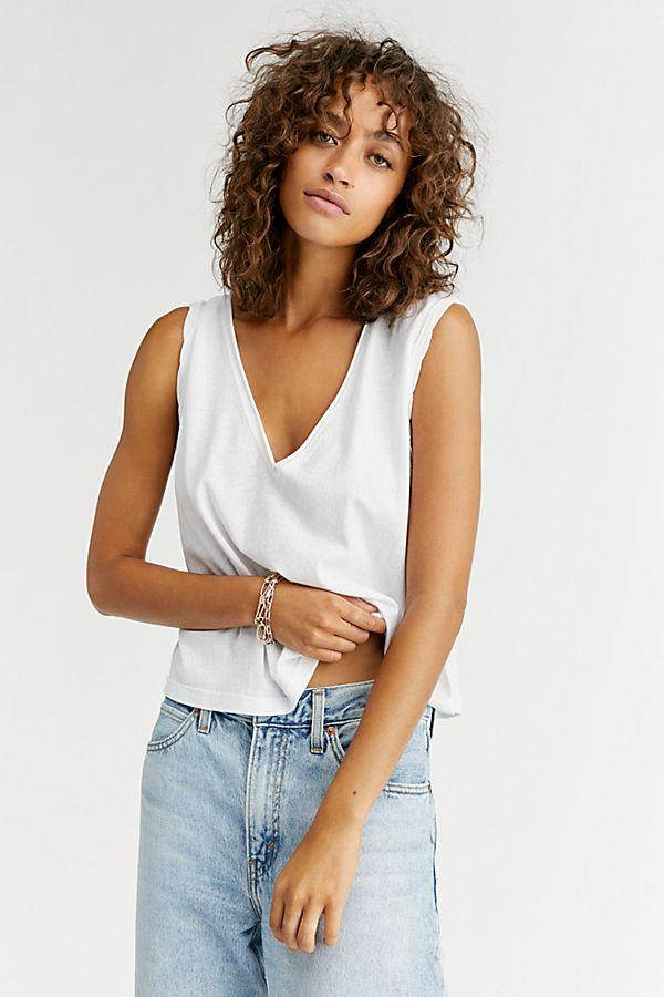 We The Free Dreamy Tank Tops Free People XS White