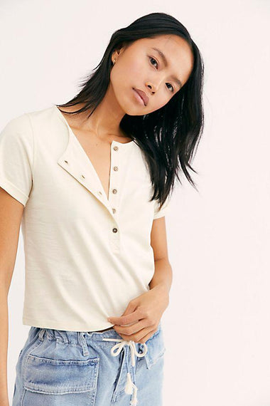 Free People Whats Up Henley Top Tops Free People