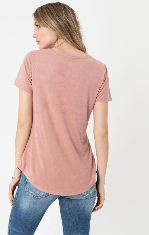 Blossom Rose Suede Pocket Tee Z Supply Z Supply