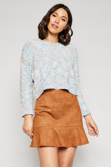 Ivy Suede Mini Skirt