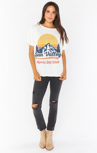 Mumu Ski Club Graphic Airport Tee Graphic Tees Show Me Your Mumu