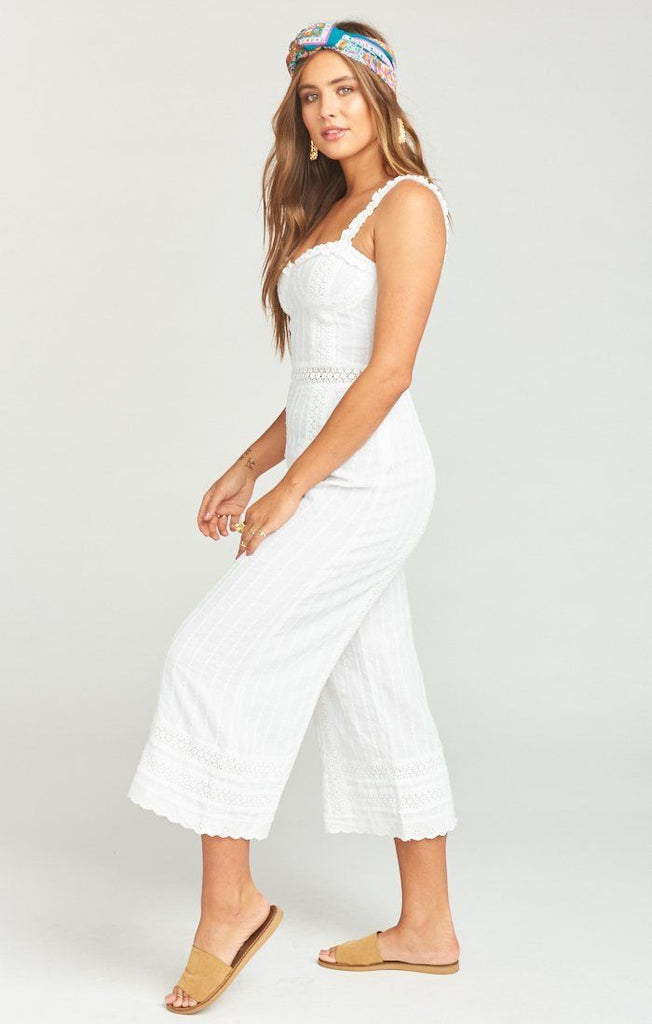 Show Me Your Mumu Greer Jumpsuit - Verona Lace
