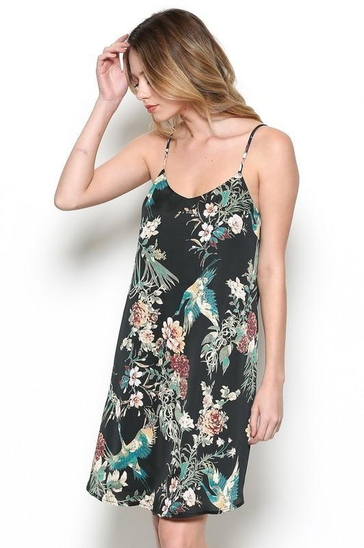 Fall Flowers Dress