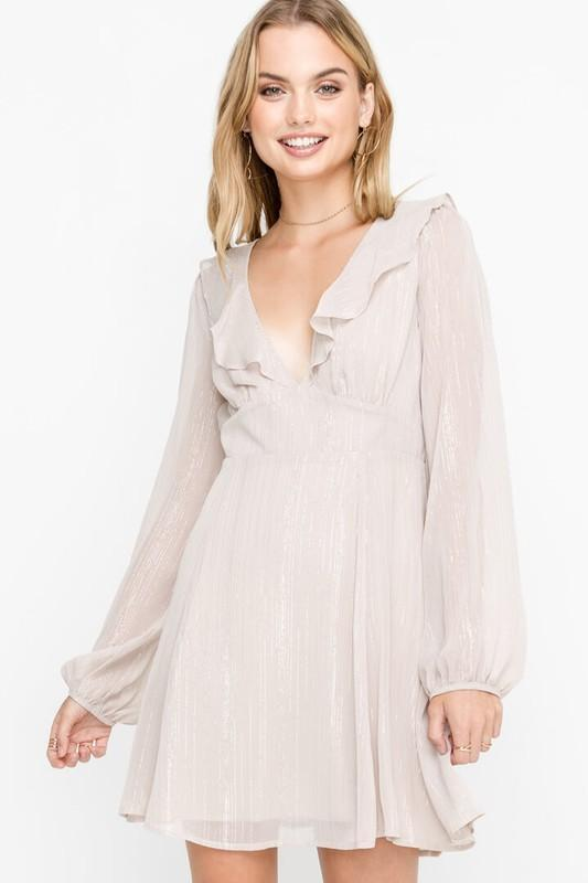 Shine All Night Dress