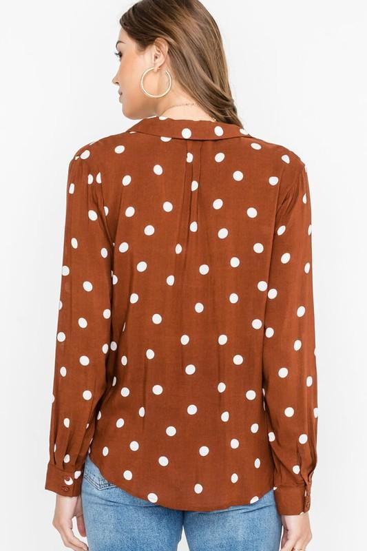 Rustic Dots Top 3