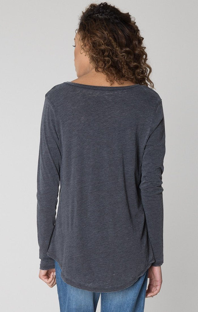 Z Supply Pocket Long Sleeve Tee