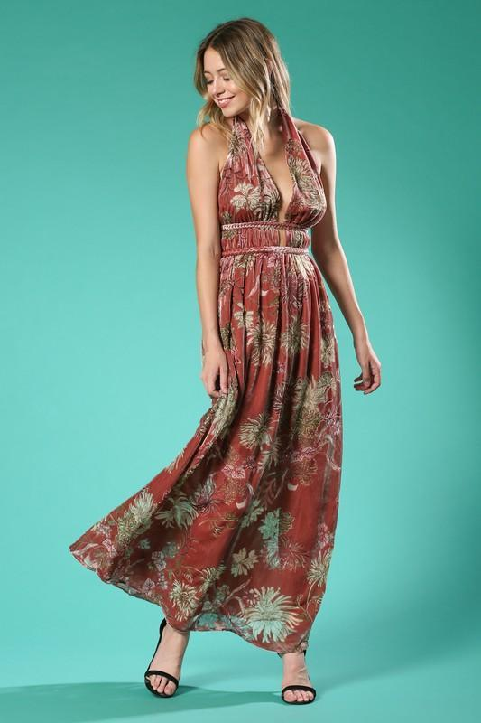 Fall For You Maxi Dress