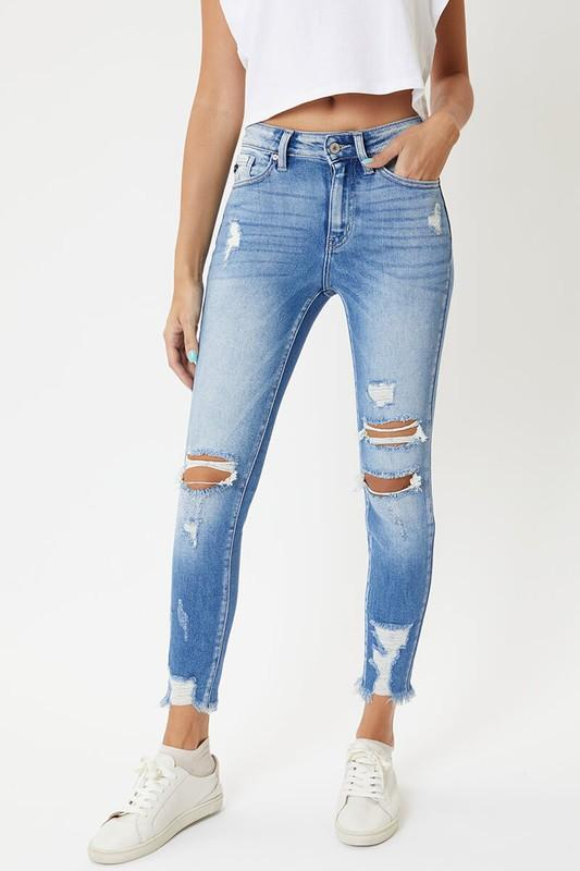 Kancan High Rise Ankle Skinny Jeans Jeans KanCan