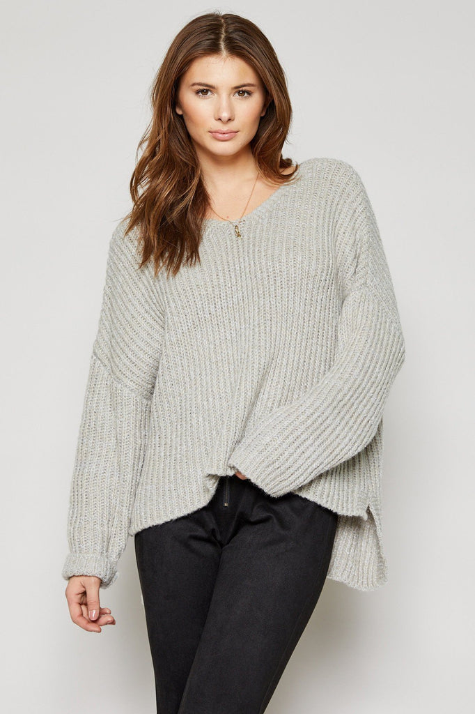 Lina High Low Sweater