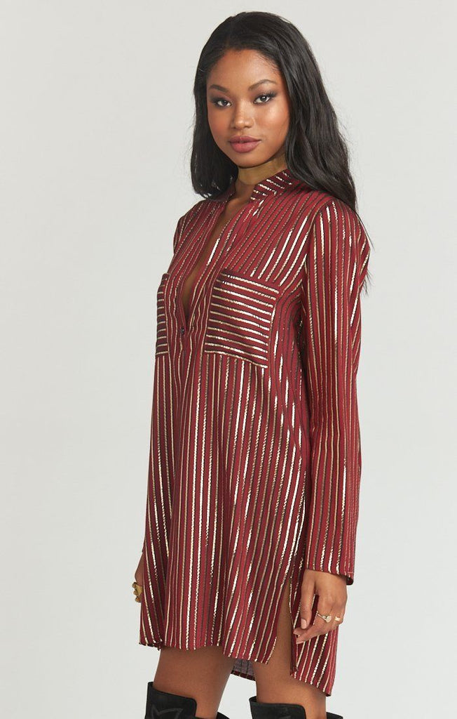 Mumu Maribelle Shirt Dress