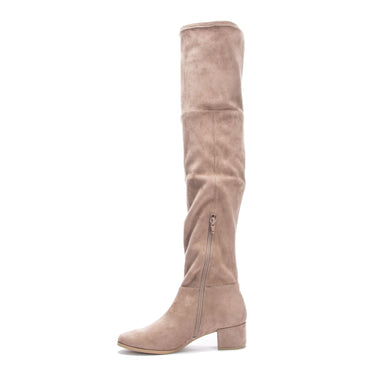Felix Suedette Mink Boots Shoes Chinese Laundry