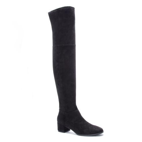 Felix Suedette Black Boots Shoes Chinese Laundry