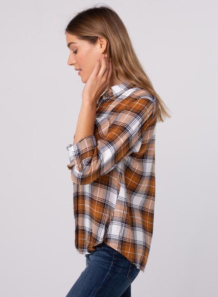 Bibi Plaid Shirt