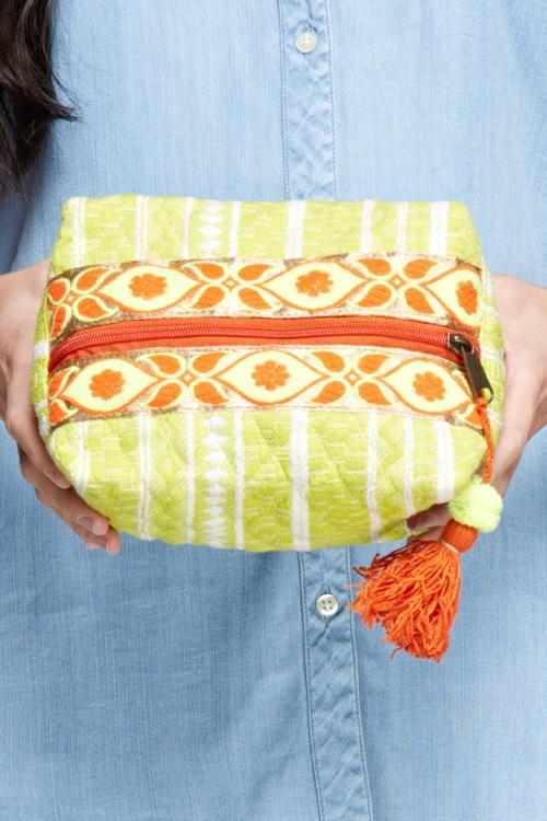 Mayan Make Up Bag
