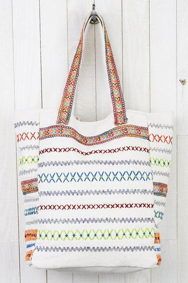 Puerto Plato Tote Bag Bags Lovestitch