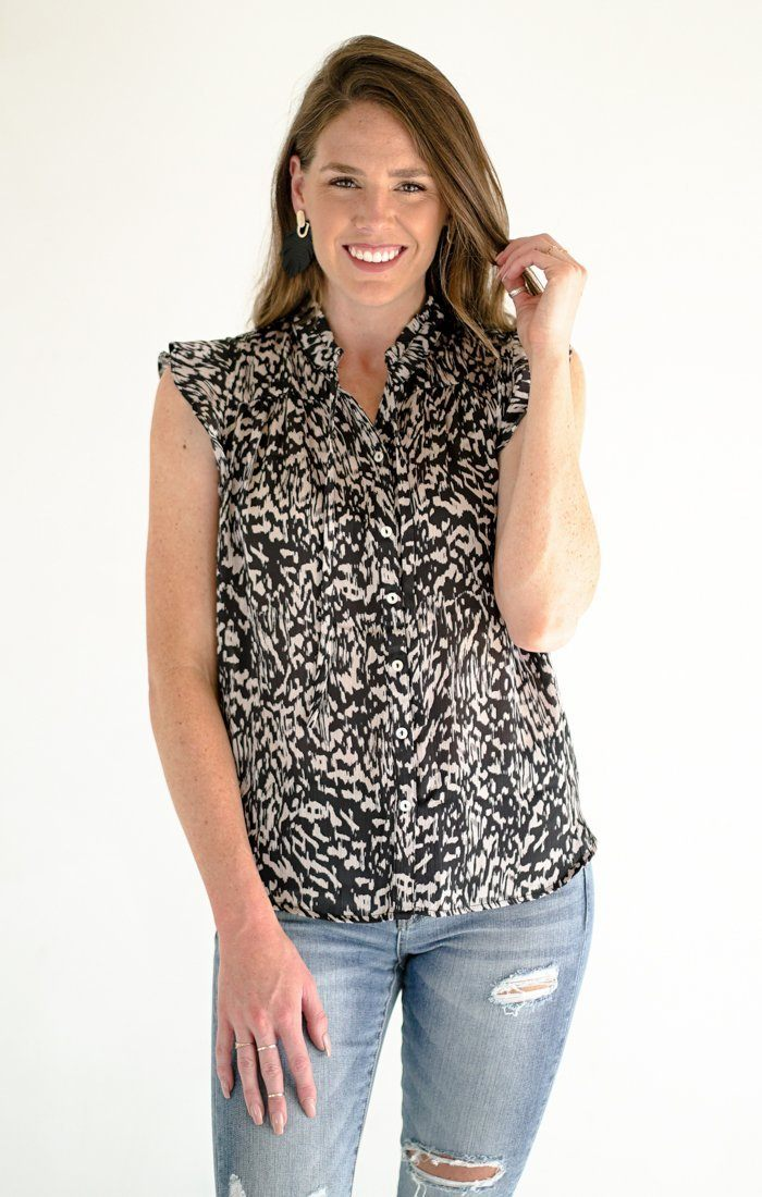 Ashley Lynne Top Tops Lovestitch Small Black
