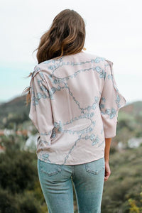 Blossoming Flutter Top Tops Lovestitch