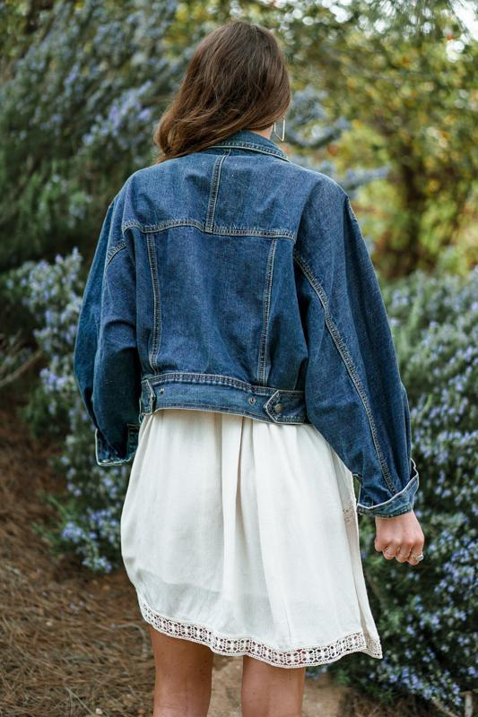 Blue Jean Girl Denim Jacket FINAL SALE Blu Pepper