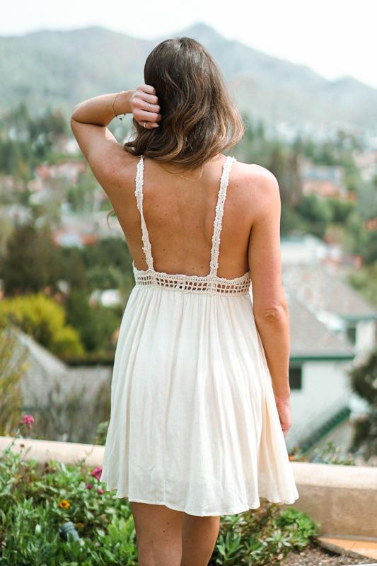 Coachella Crochet Dress
