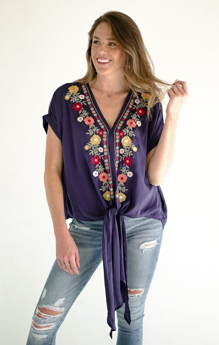 Focus On Florals Top