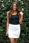 Free People White Femme Skirt Skirts Free People 0 White