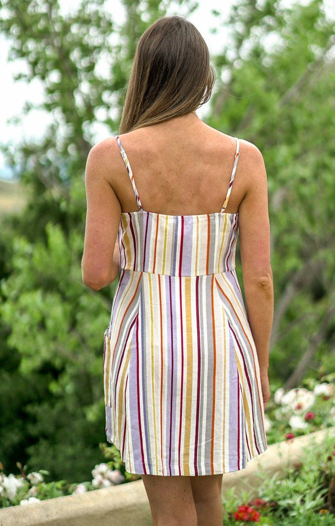 Hampton Stripes Dress Dresses Lush