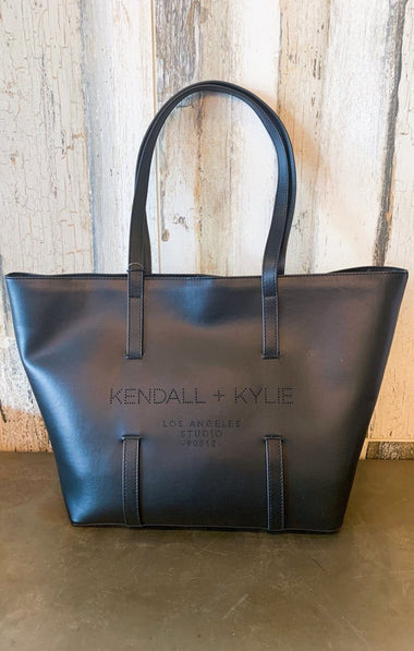 KK Tote Bag Bags Kendall and Kylie Burgundy