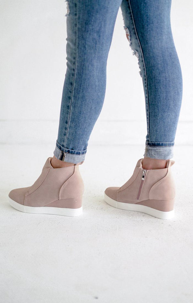 Zoey Sneakers Blush