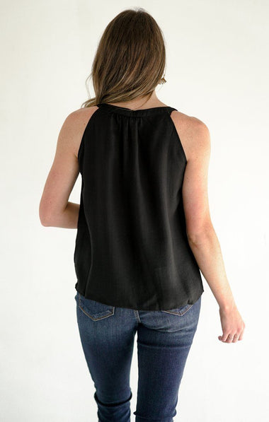 Amelia Top Tops THML XS Black