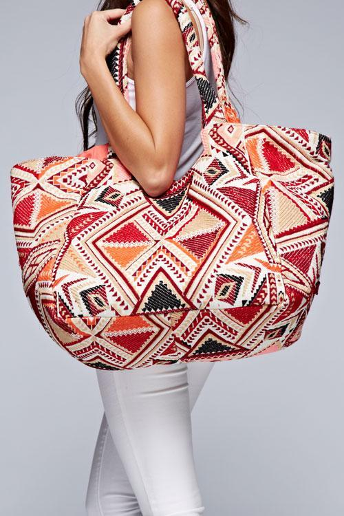 Hobo Coral Pattern Bag