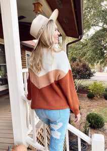 Brooklyn Rust Sweater Dakotas Boutique