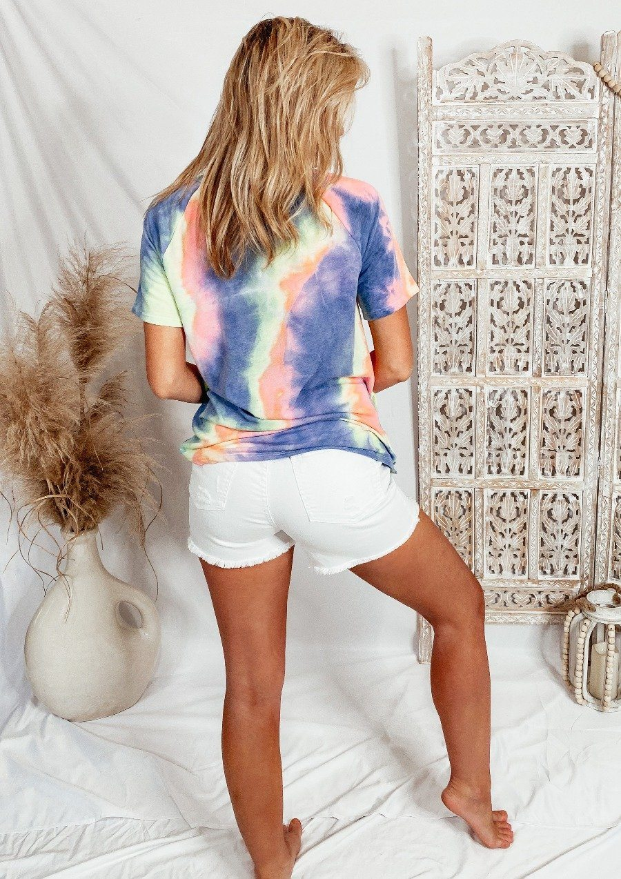 Hippie Tie Dye Comfy Top Tops Bibi