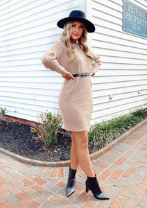 Dream Chaser Sweater Dress Dresses GILLI