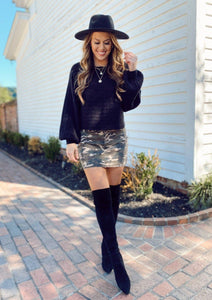 Camo Days In Fall Skirt Skirts Olivaceous