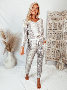 Bindi Snakeskin Top Tops Cherish