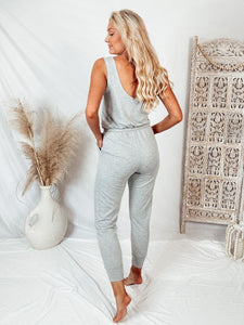 Take It Easy Drawstring Jumpsuit Process GILLI
