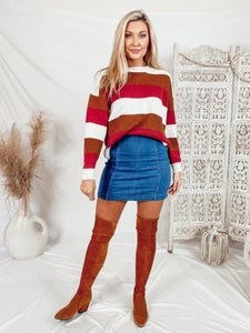 Charlotte Bold Stripes Sweaters Dreamers