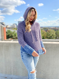 Give It Time Hoodie Sweater Sweaters Hem and Thread