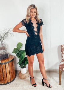 Looking For Lace Black Dress Dresses Storia