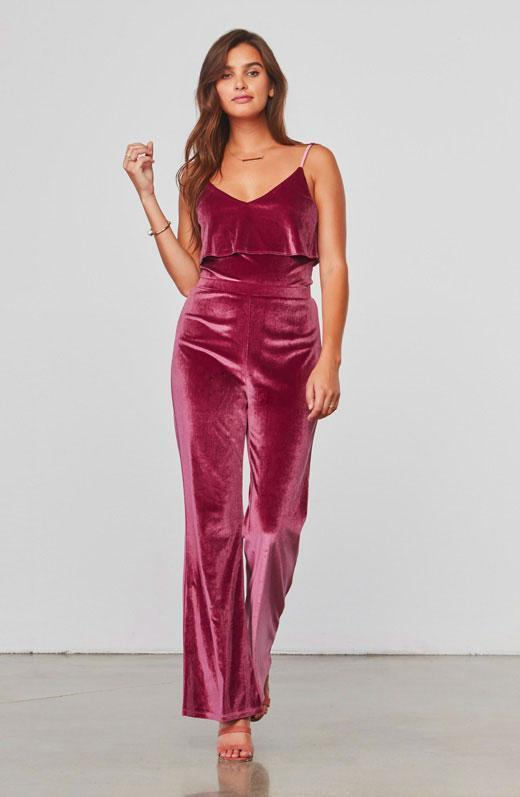 BB Dakota Bert Fig Jumpsuit