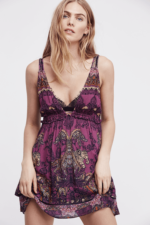 Free People Me to You Printed Mini