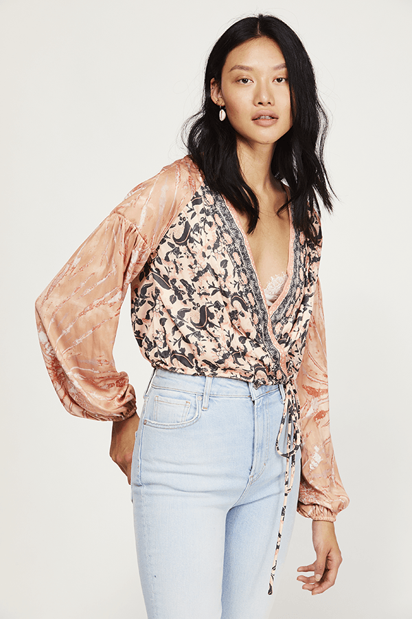 Free People Cruisin Together Printed Top